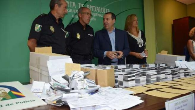 Ruiz espejo cae red la rapida lotería ilegal málaga 2015