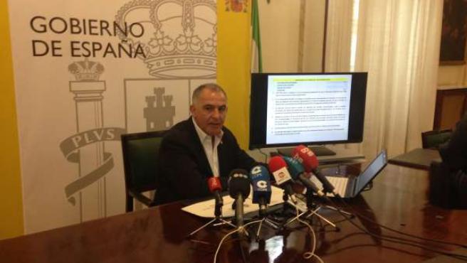 Subdelegado del Gobierno en Granada, Santiago Pérez