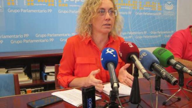 Diputada del PP en el Congreso por Badajoz Teresa Angulo