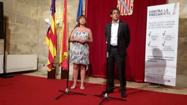 Francina Armengol y Iago Negueruela