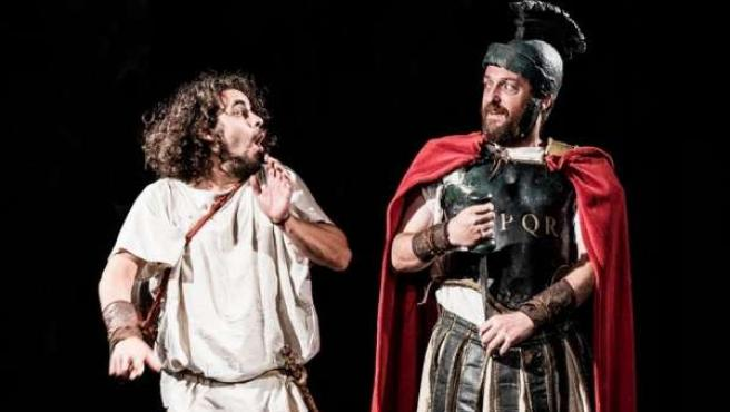 Itálica acoge la obra 'Miles Gloriosus'