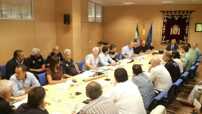 Reunión de Seguridad por la Vuelta Ciclista a España