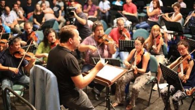 Encuentro de directores de orquesta en Huelva.