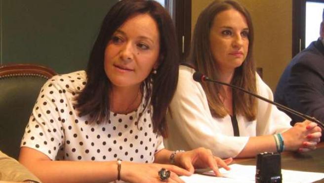 Rafi Crespín con Esther Ruiz