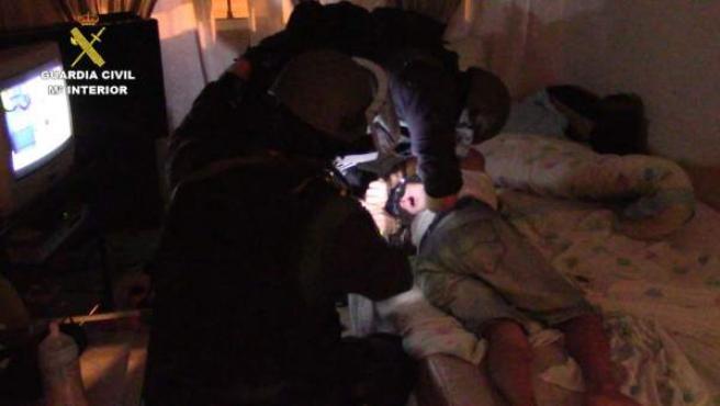 La Guardia Civil detiene a 4 personas en la operación Quelonio.