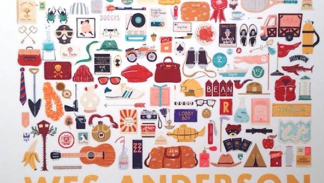 Galería: Arte inspirado en Wes Anderson