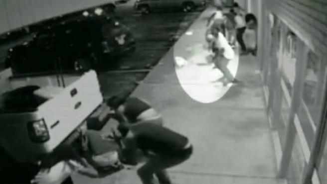 Fotograma del vídeo de Ferguson difundido por la Policía.