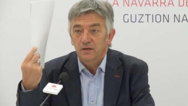 Koldo Martínez, portavoz de Geroa Bai en el Parlamento
