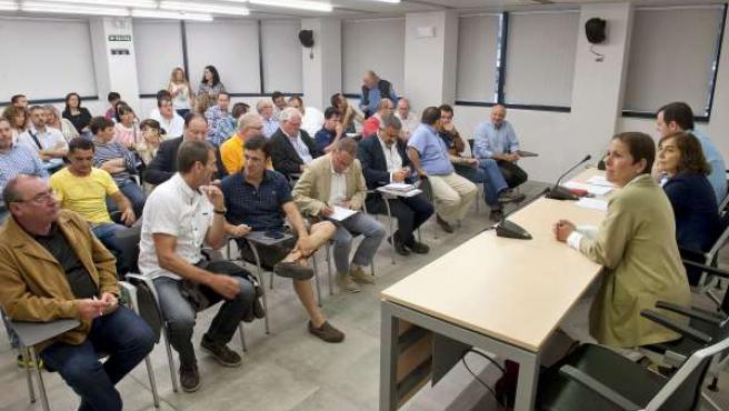 Reunión de los responsables del Gobierno con representantes de las federaciones