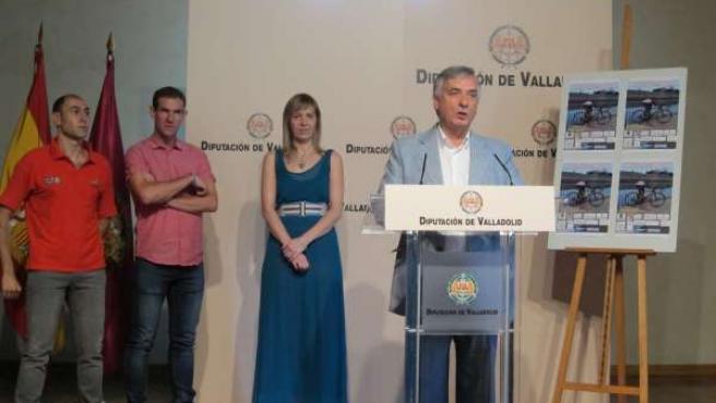 Artemio Domínguez, María San José, Amancio del Castillo y Luis Ángel Fernández