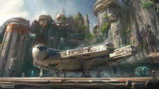 Así serán los parques temáticos de 'Star Wars', 'Avatar' y 'Toy Story'