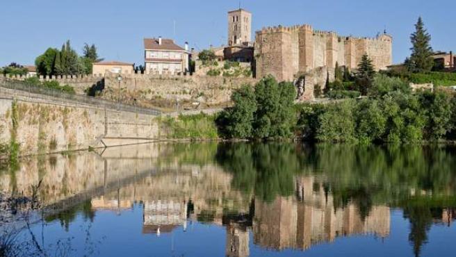 Vista del casco antiguo de Buitrago de Lozoya.