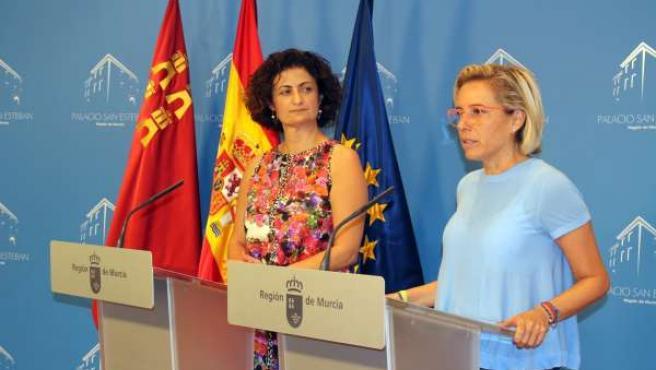 María Dolores Pagán y Adela Martínez-Cachá