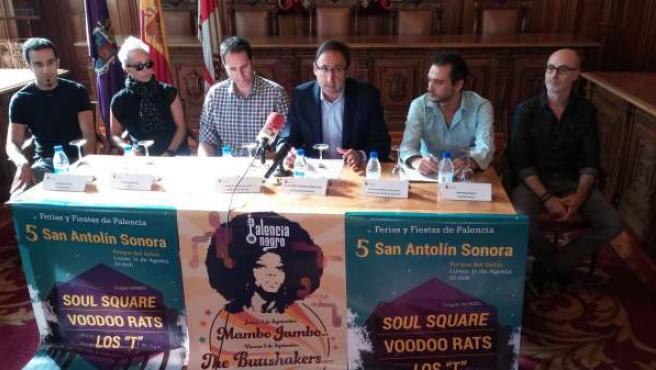 Presentación de la programación San Antolín Sonora