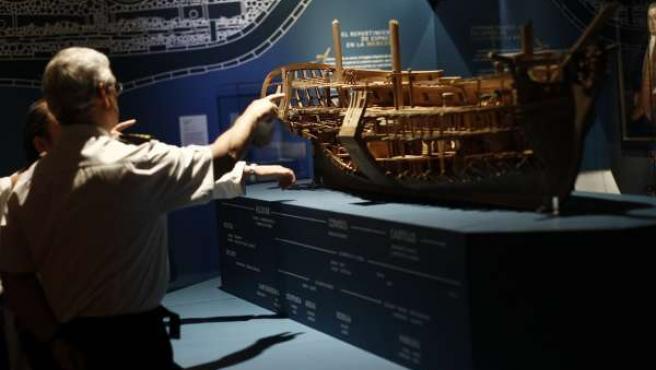 Exposición El último viaje de la fragata Mercedes
