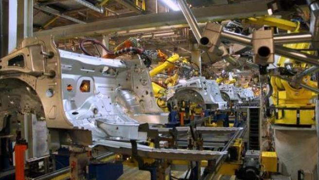 Fábrica de General Motors en Figueruelas.