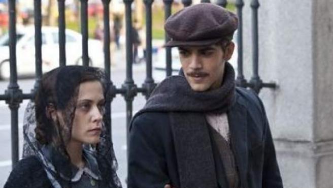 María León interpreta a Pepita Patiño en la película 'La Voz Dormida'.