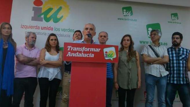 Gutiérrez Arregui el día de su renuncia.