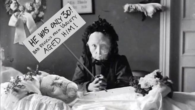 Foto del día: Terry Gilliam responde a la noticia de su muerte