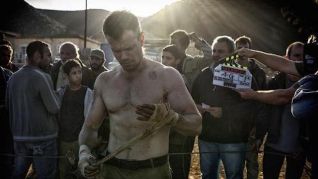 Primer vistazo a Matt Damon en 'Bourne 5'