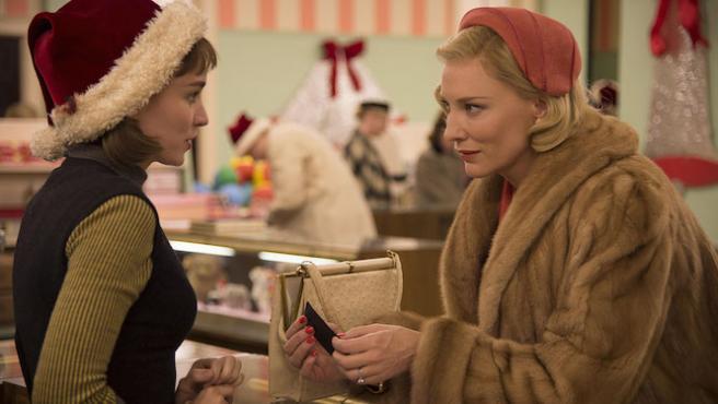 'Carol': Nuevo tráiler con Cate Blanchett y Rooney Mara