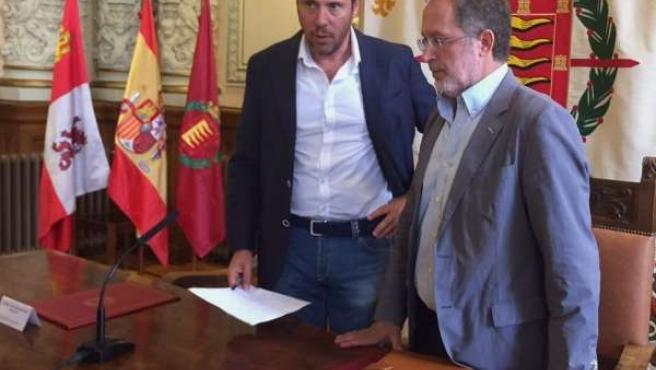 El alcalde de Valladolid y el concejal de Urbanismo