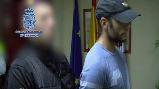 Morate llega a Madrid escoltado por la Policía Nacional