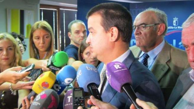 Francisco Martínez Arroyo, consejero de Agricultura de C-LM
