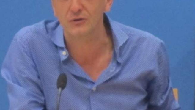 El consejero municipal de Economía y Cultura, Fernando Rivarés