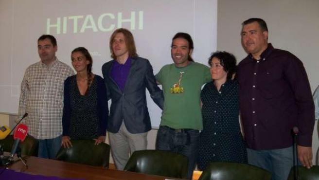 Representantes de Podemos, León Despierta y Ahora Villaquilambre