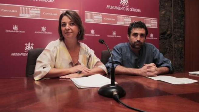 Isabel Ambrosio y Rafael del Castillo
