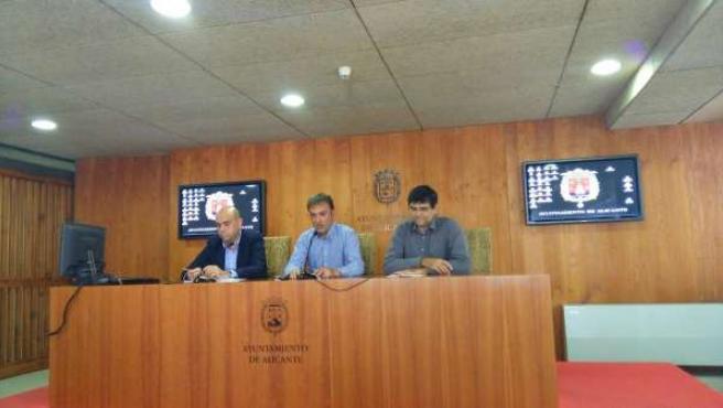 Echávarri, Bellido y Pavón, este jueves en Alicante