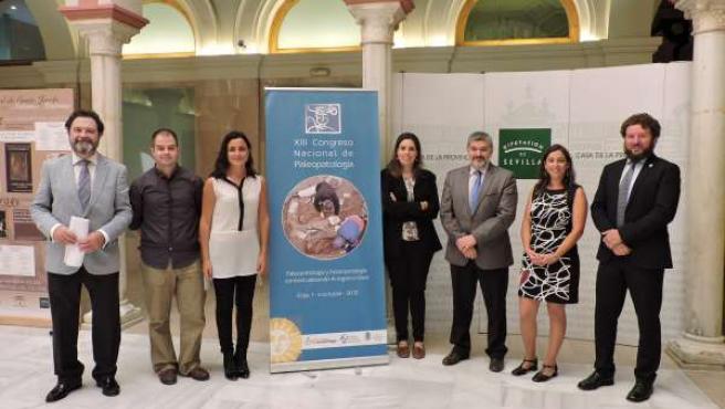 Presentación del Congreso Nacional de Paleopatología en Écija