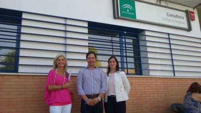 Visita de los populares a La Roda