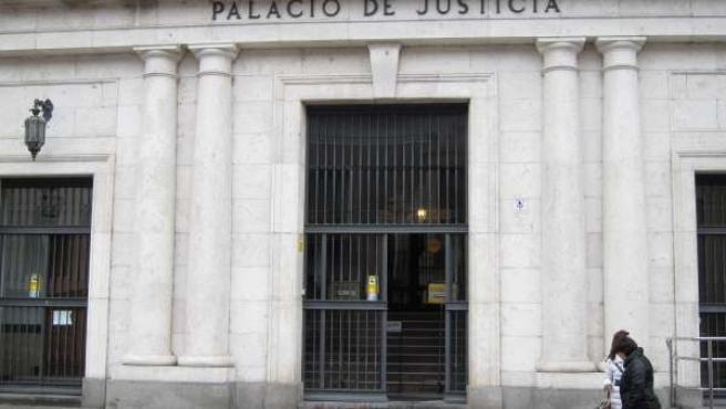 Palacio de la Audiencia de Valladolid, escenario del juicio contra el acusado.