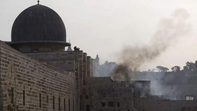 La Explanada de las Mezquitas de Jerusalén.