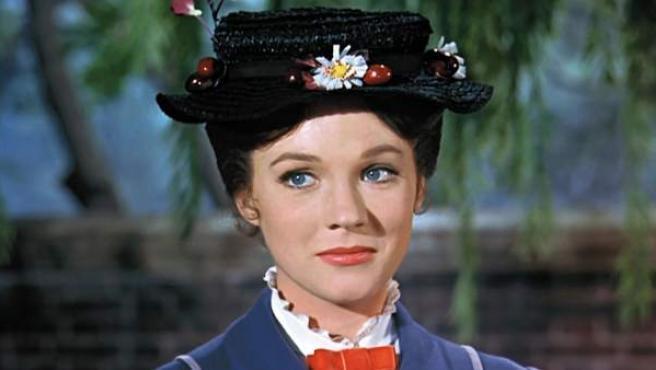 Fotograma de la película Mary Poppins de Disney.
