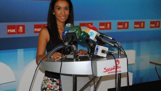Lamia Kaddur, diputada autonómica del PSOE de Melilla