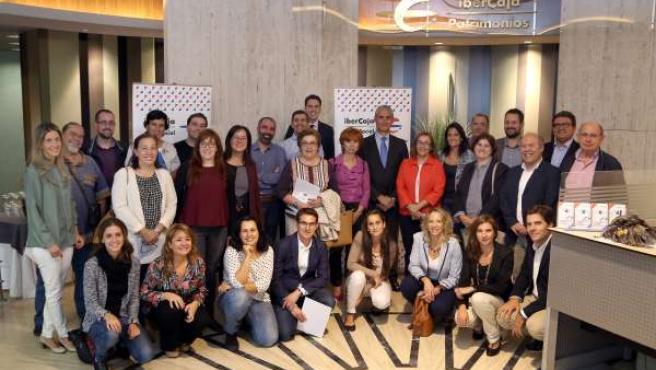Firma de convenios sociales de Ibercaja con entidades de Madrid