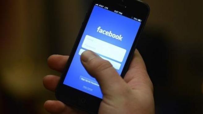 Versión móvil de Facebook.