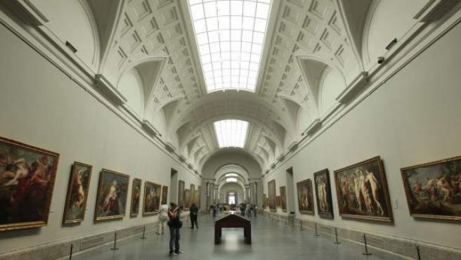La Galería Central del Museo del Prado tras su reorganización.