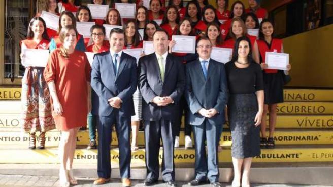 Alumnos de la UPC de Lima