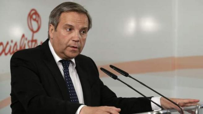 El concejal del PSOE en el Ayuntamiento de Madrid Antonio Miguel Carmona.