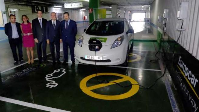 Presentación servicio carsharing europcar málaga