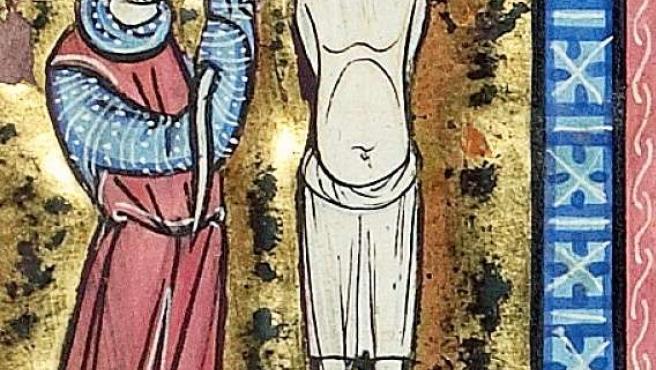 Una de las miniaturas del 'Vidal Mayor'