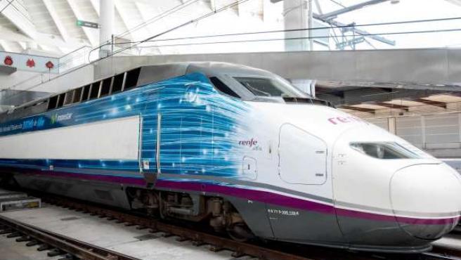 Tren AVE de RENFE