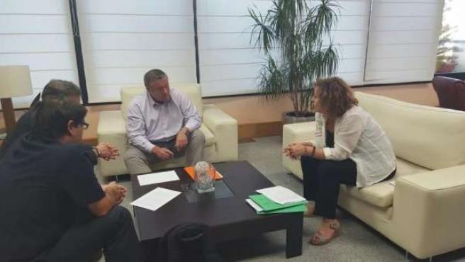 Reunión Bernabé con Ahora Murcia