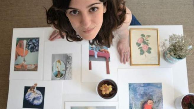 Esta joven artista catalana es también pintora, fotógrafa y escritora.