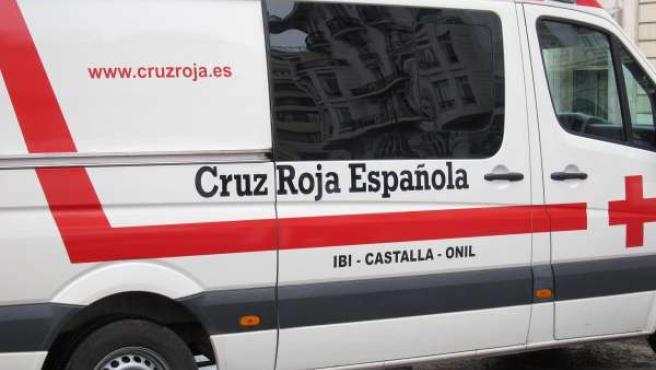 Cruz Roja, ambulancia.