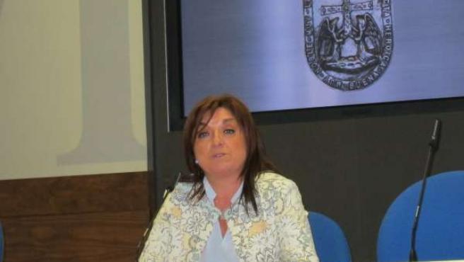 La concejala del PP Belén Fernández Acevedo